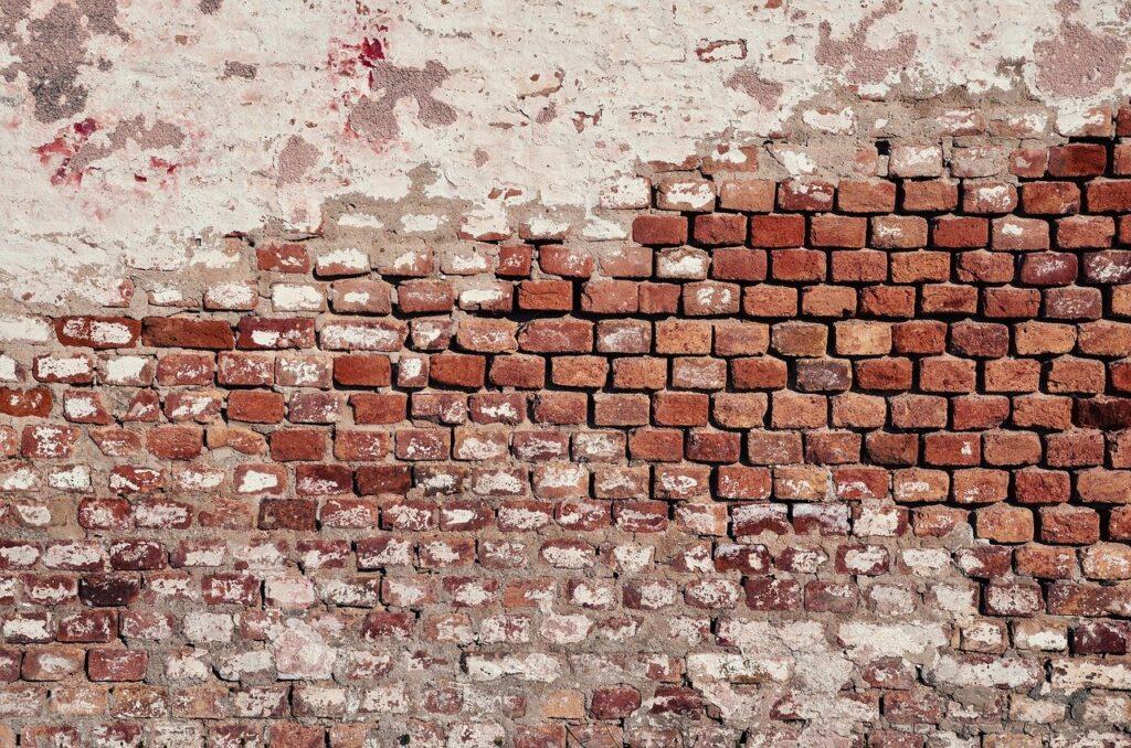 wall, brick, brick wall